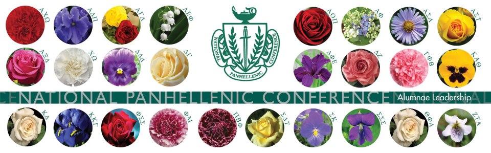 Panhellenic flowers